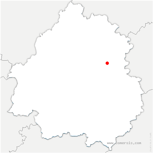 carte de localisation de Chourgnac