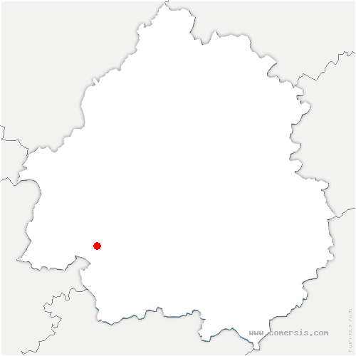 carte de localisation de Force