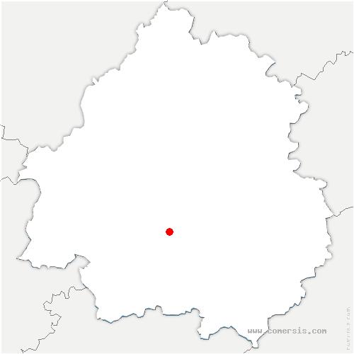 carte de localisation de Fouleix