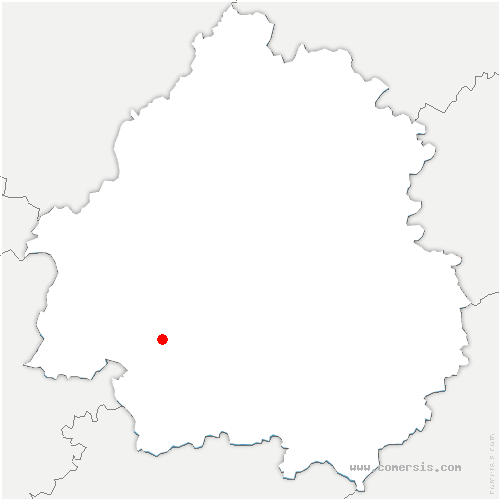 carte de localisation de Ginestet