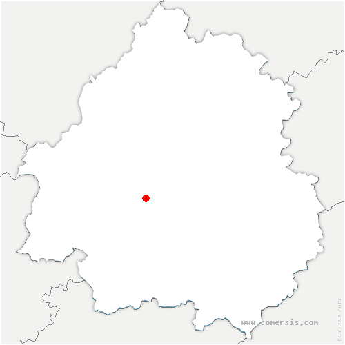 carte de localisation de Jaure