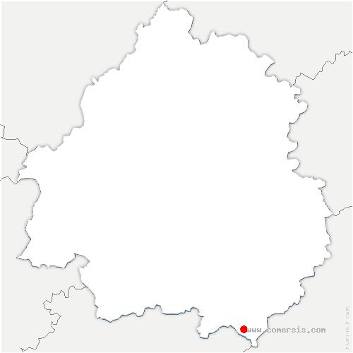 carte de localisation de Lavaur