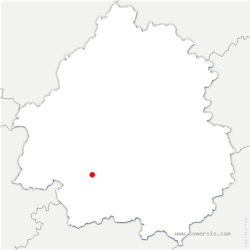 carte de localisation de Lembras