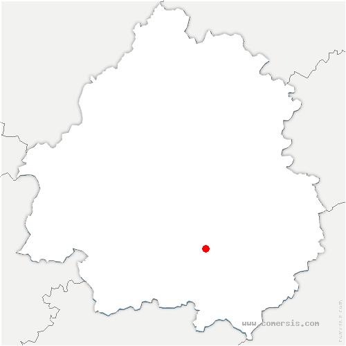 carte de localisation de Limeuil