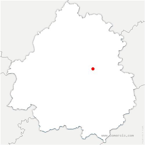 carte de localisation de Limeyrat