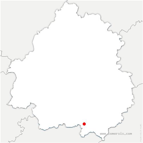 carte de localisation de Lolme