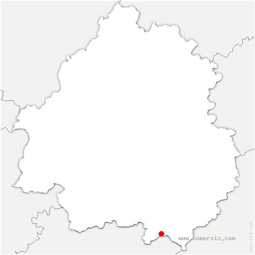 carte de localisation de Mazeyrolles