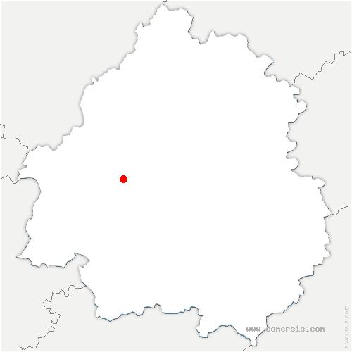 carte de localisation de Neuvic