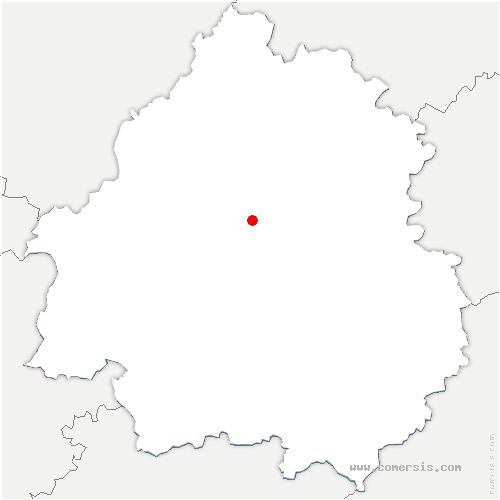 carte de localisation de Périgueux