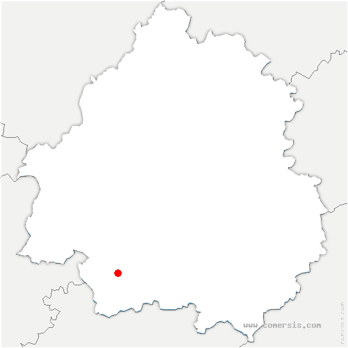 carte de localisation de Rouffignac-de-Sigoulès