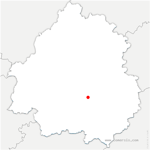 carte de localisation de Saint-Avit-de-Vialard