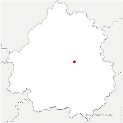 carte de localisation de Saint-Crépin-d'Auberoche