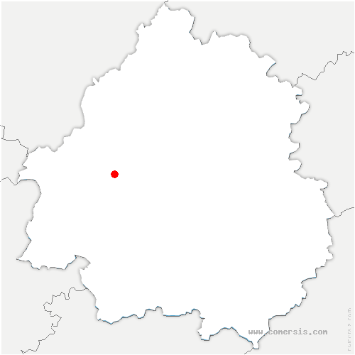carte de localisation de Saint-Germain-du-Salembre