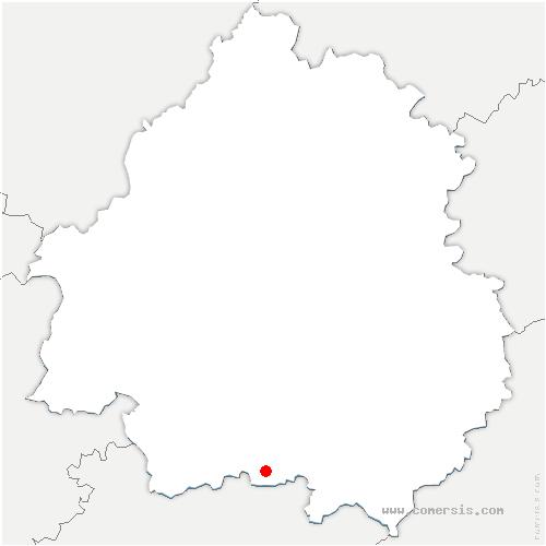 carte de localisation de Saint-Léon-d'Issigeac