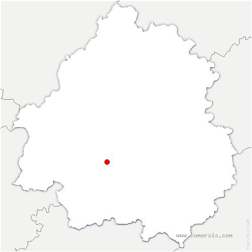 carte de localisation de Saint-Martin-des-Combes