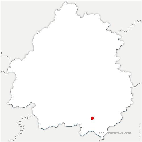 carte de localisation de Saint-Pardoux-et-Vielvic