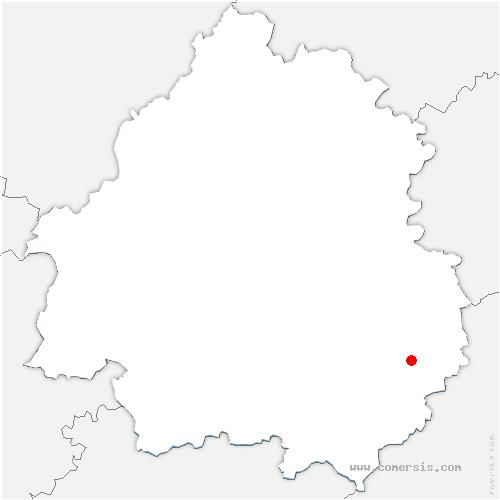 carte de localisation de Saint-Vincent-le-Paluel
