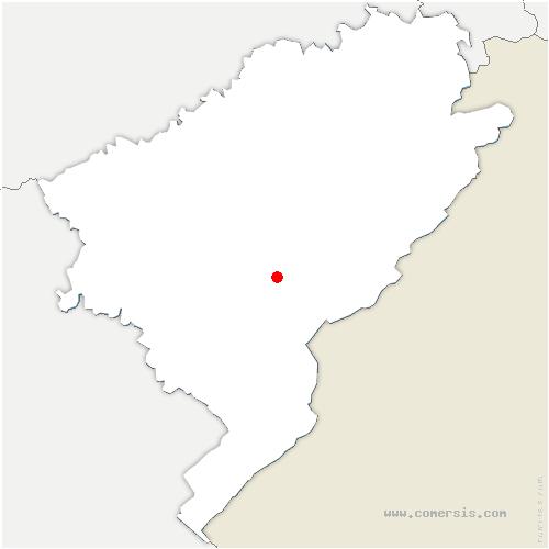 carte de localisation de Aubonne