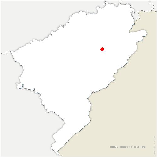 carte de localisation de Belleherbe