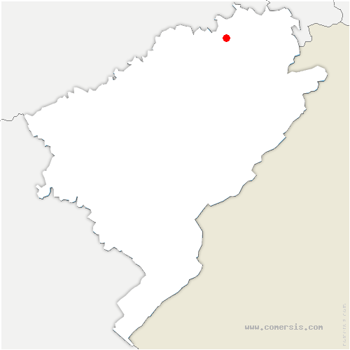 carte de localisation de Beutal