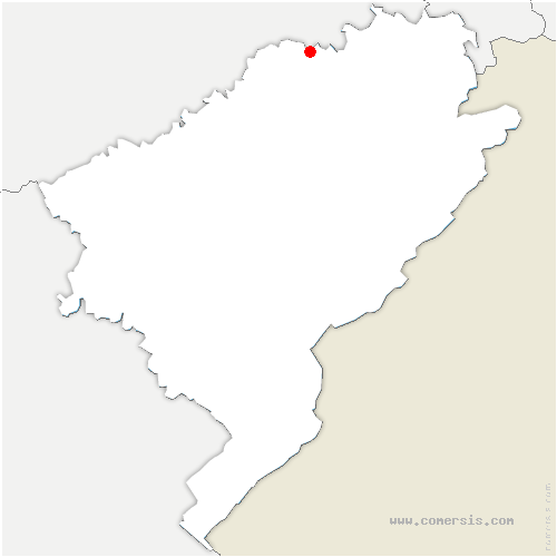 carte de localisation de Bournois