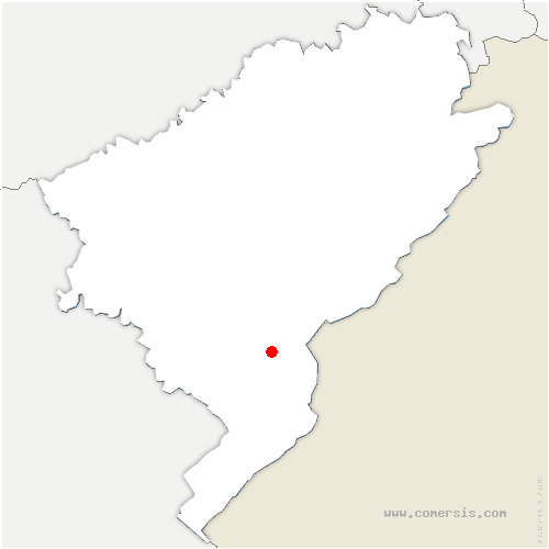 carte de localisation de Doubs