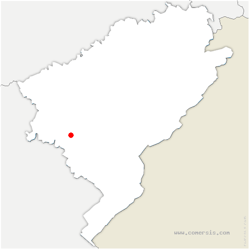 carte de localisation de Éternoz