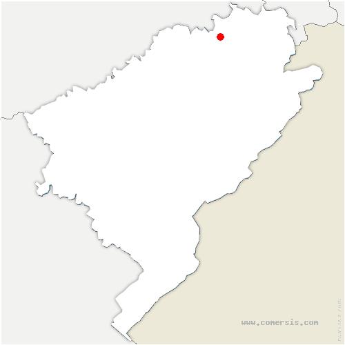 carte de localisation de Faimbe