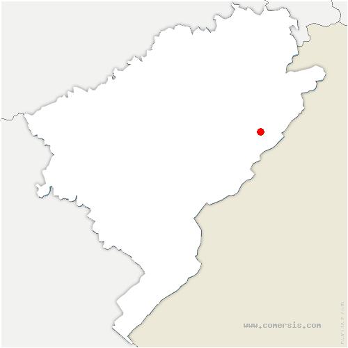 carte de localisation de Fontenelles
