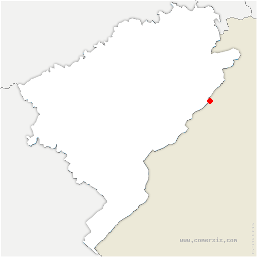 carte de localisation de Fournet-Blancheroche