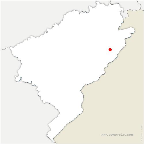carte de localisation de Frambouhans