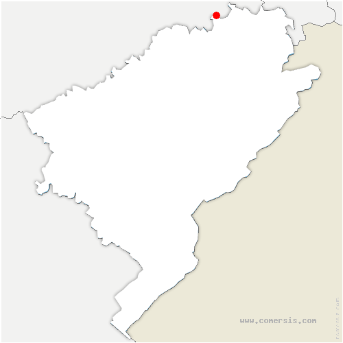 carte de localisation de Gémonval