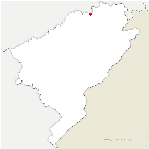 carte de localisation de Geney