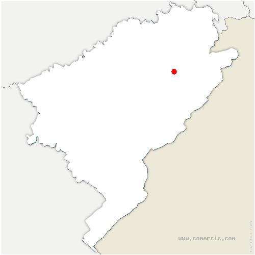 carte de localisation de Grange