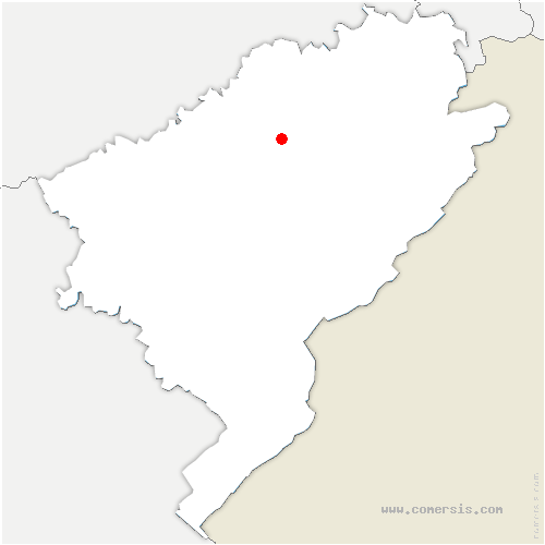 carte de localisation de Lomont-sur-Crête
