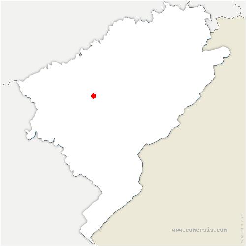 carte de localisation de Mamirolle