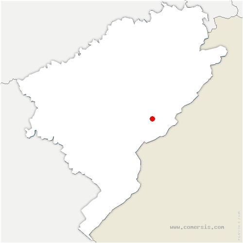 carte de localisation de Morteau