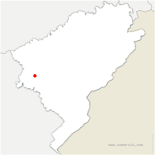 carte de localisation de Palantine