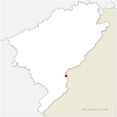 carte de localisation de Pontarlier