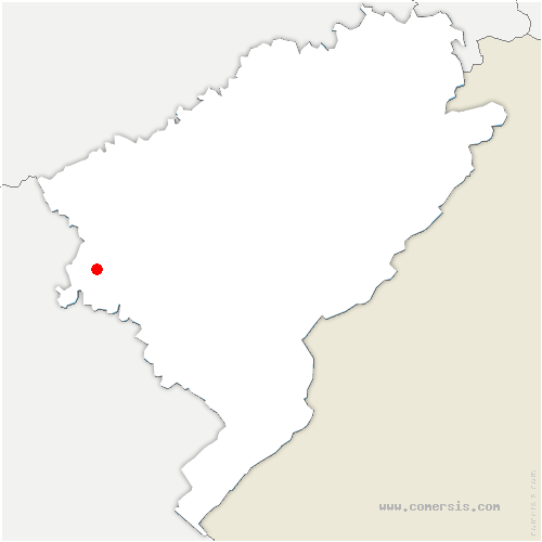 carte de localisation de Quingey