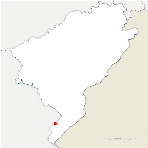 carte de localisation de Reculfoz