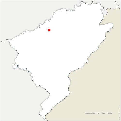 carte de localisation de Saint-Hilaire