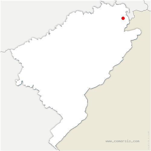 carte de localisation de Seloncourt