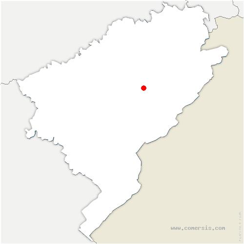 carte de localisation de Sommette