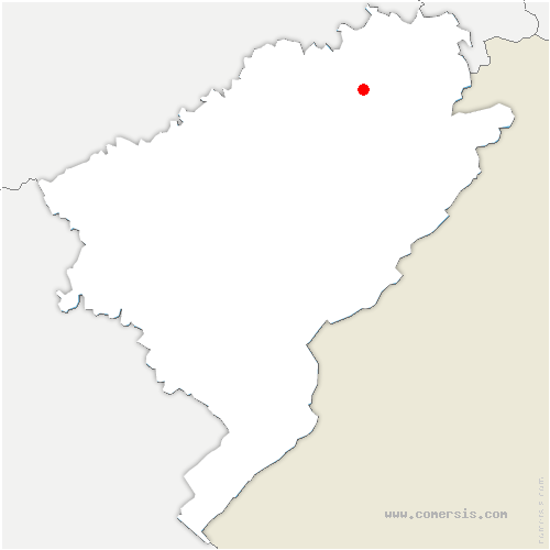 carte de localisation de Sourans