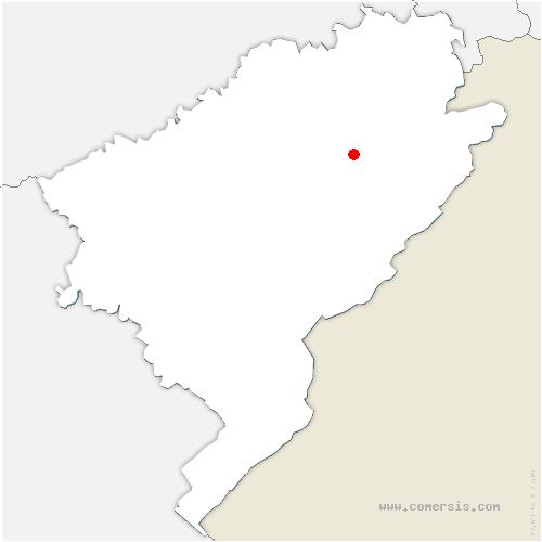 carte de localisation de Surmont