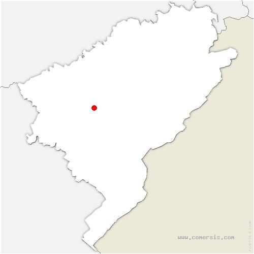 carte de localisation de Trépot