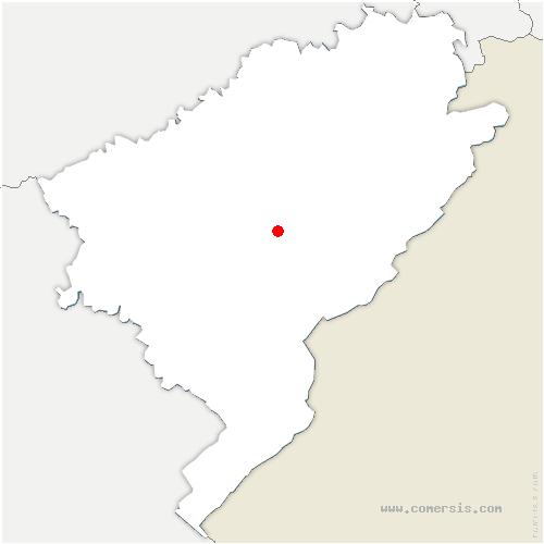 carte de localisation de Valdahon