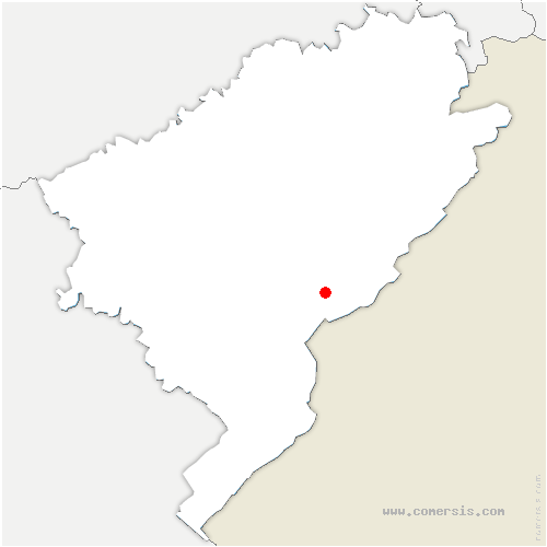 carte de localisation de Ville-du-Pont