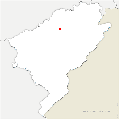 carte de localisation de Villers-Saint-Martin
